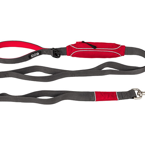 DOG Copenhagen - Urban Trail Leash Classic Red (2 Sizes)