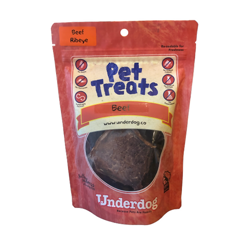 Underdog Pet Treats - Beef Ribeye