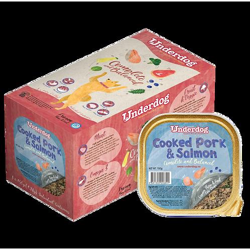 Underdog Cooked Frozen Recipe - Pork & Salmon