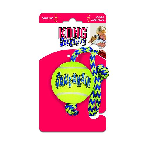 KONG SqueakAir® Balls with Rope
