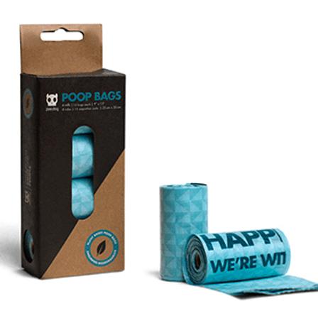 Zee.Dog Plant Based Poop Bags (Refills)