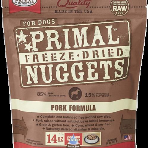 Primal Freeze Dried Nuggets 14oz - Pork Formula (2 for $88; 4 for $159.90)
