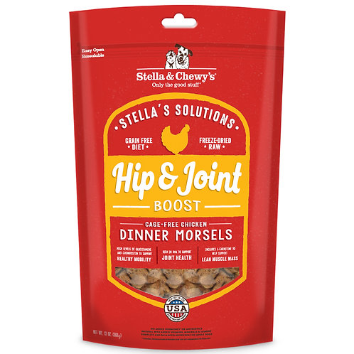Stella's Solutions: Hip & Joint Boost Cage-Free Chicken (13oz)