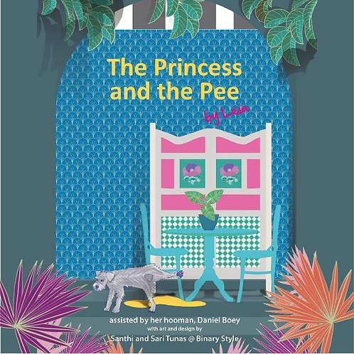Book: The Princess and the Pee (Part of proceeds will be donated to ASD)