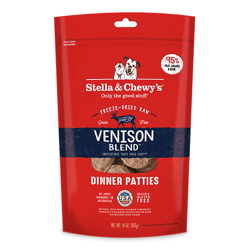 Stella & Chewy's Dinner Patties (14oz) - Venison Blend