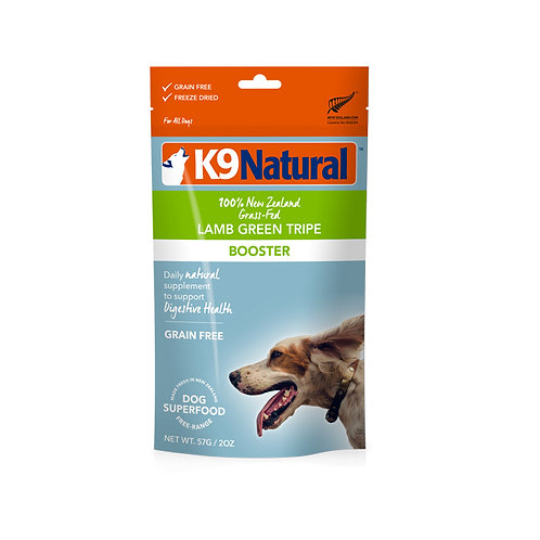 K9 Natural Freeze Dried - Lamb Green Tripe Topper 57g