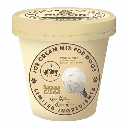 Hoggin' Dogs Ice Cream Mix-Banana (2 Sizes)