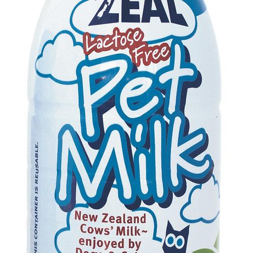 Zeal Lactose-Free Pet Milk For Cats & Dogs 1L (12 Bottles/Carton)