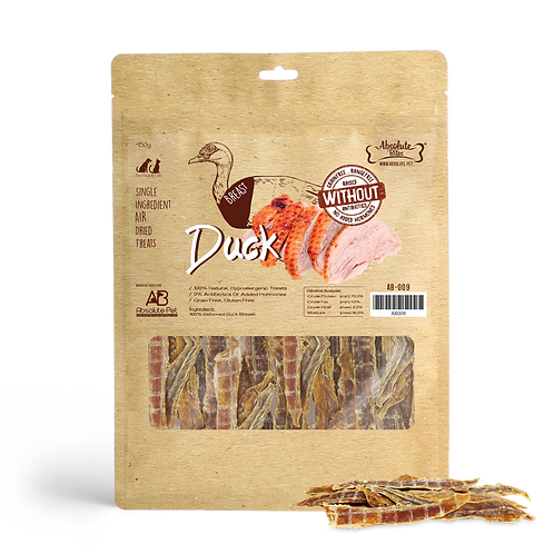 Absolute Bites Air Dried - Duck 450g