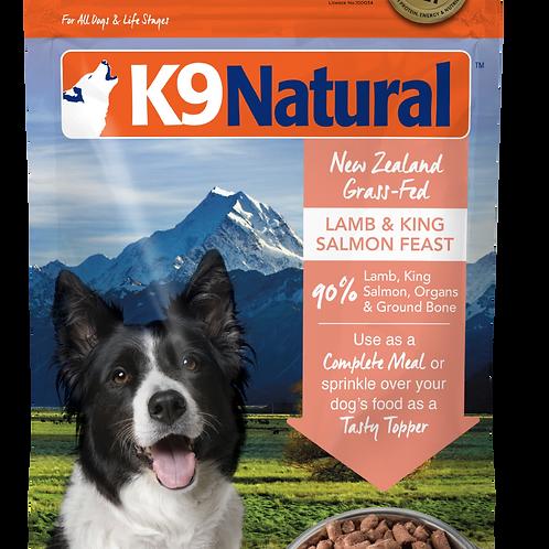 K9 Natural Freeze Dried - Lamb & King Salmon (2 sizes)