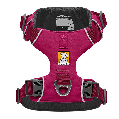 Ruffwear Front Range® Dog Harness - Hibiscus Pink (5 sizes)