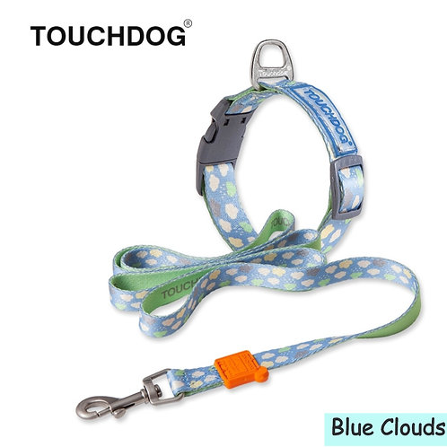 Touchdog Collar & Lead Set (Available in 7 designs)