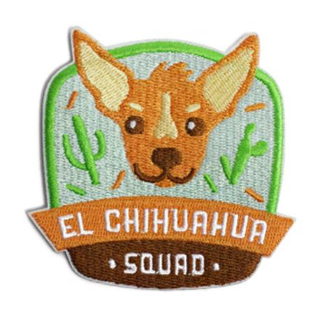 Zee.Dog Chihuahua Patch