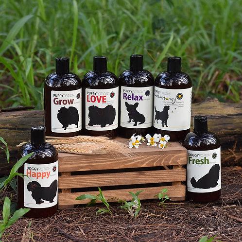 Doggypotion: Shampoo 500ml (Honey/Love/Grow/Relax/Fresh/Happy)