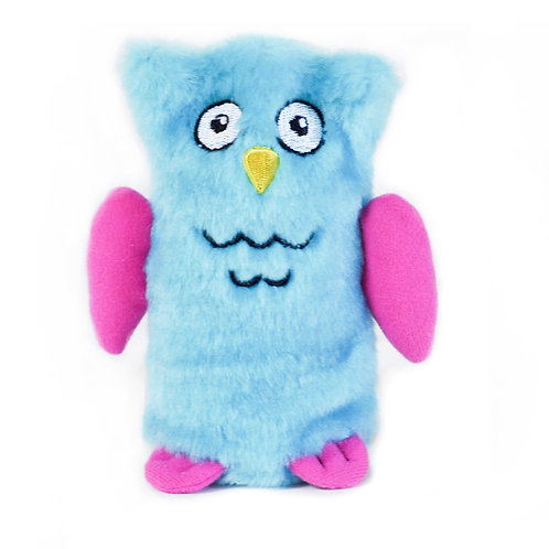 Zippypaws Squeakie Buddie - Owl