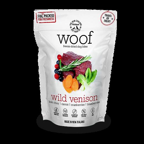WOOF Wild Venison Freeze Dried Dog Treats (50g)