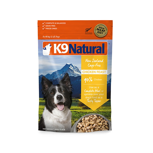 K9 Natural Freeze Dried - Chicken (2 sizes)