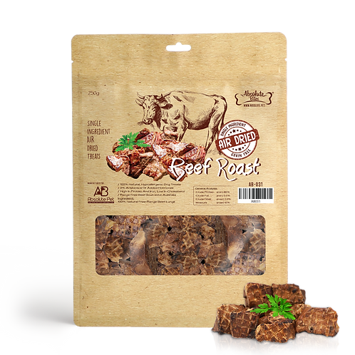Absolute Bites Air Dried - Beef Roast 250g