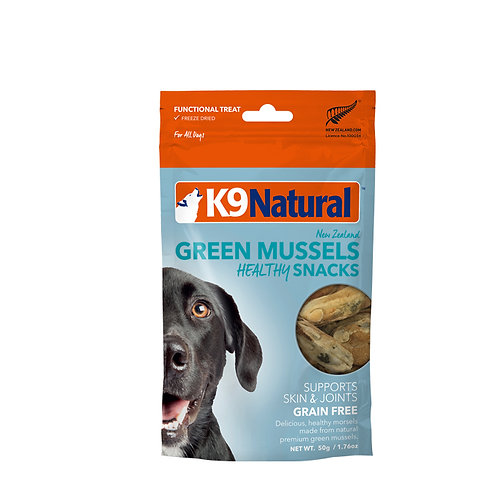 K9 Natural Healthy Snack - Green Mussel 50g