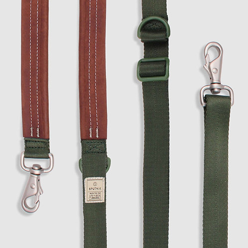 Sputnik: Multi-Function Dog Leash (Green)