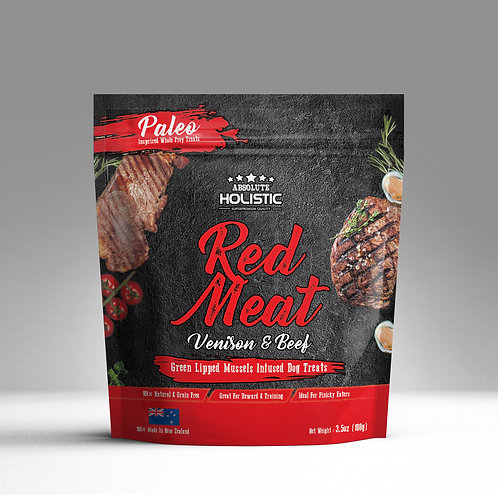Absolute Holistic - Air Dried Red Meat (Venison & Beef) 100g