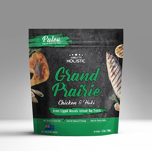 Absolute Holistic - Air Dried Grand Prairie (Chicken &  Hoki) 100g