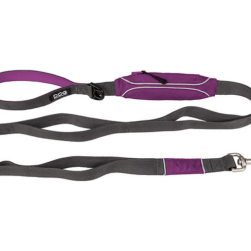 DOG Copenhagen - Urban Trail Leash Purple Passion (2 Sizes)