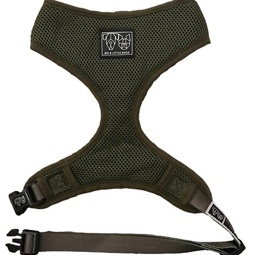 Big & Little Dogs Classic Harness-Army Green