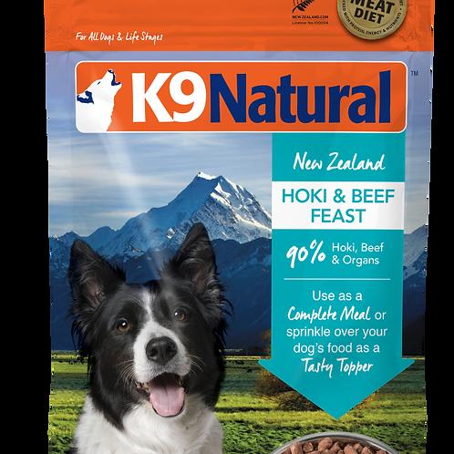 K9 Natural Freeze Dried - Hoki & Beef (2 sizes)