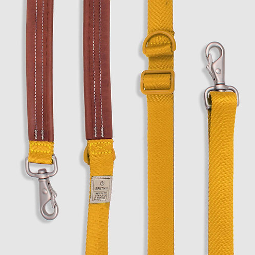 Sputnik: Multi-Function Dog Leash (Yellow)