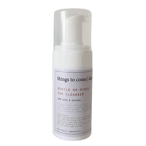 things to come:Gentle No-Rinse Fur Cleanser No. 1