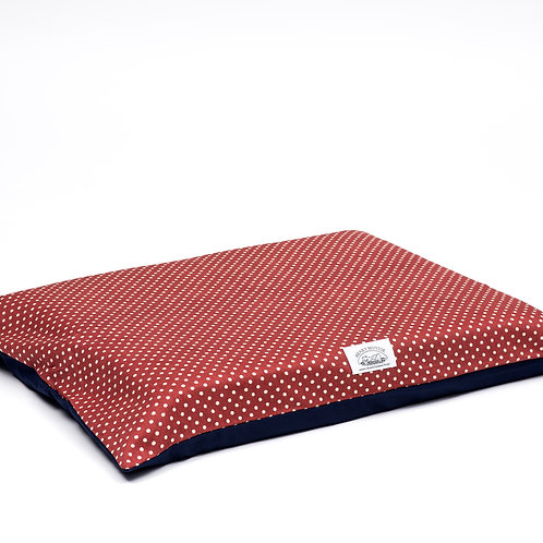 Henry Hottie Bed Covers (Red & White Polka Dots)