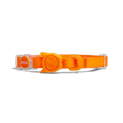 Zee.Dog Neopro Cat Collar-Tangerine