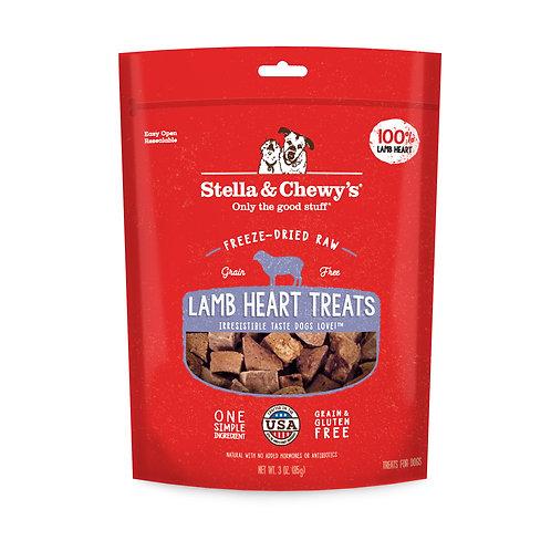 Stella & Chewy's Single Ingredient Treat - Lamb Heart (3oz)