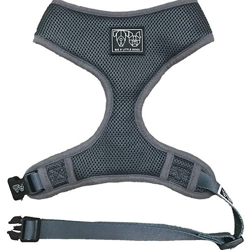 Big & Little Dogs Classic Harness-Grey