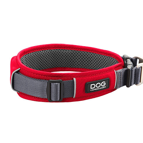 DOG Copenhagen - Urban Explorer Collar Classic Red (4 Sizes)