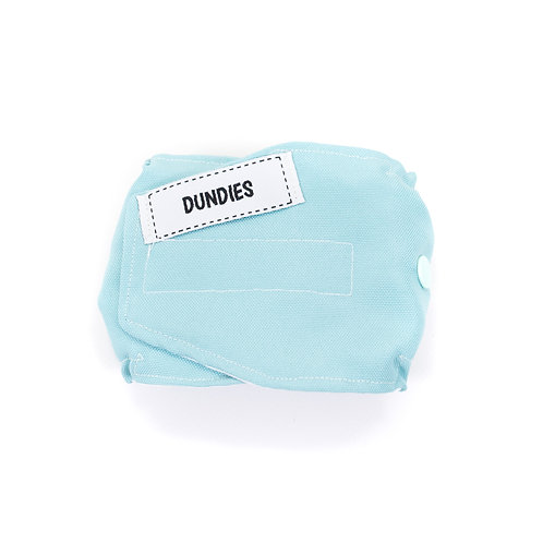 Dundies Belly Band-Soft Blue