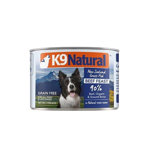 K9 Natural Canned - Beef (2 sizes)