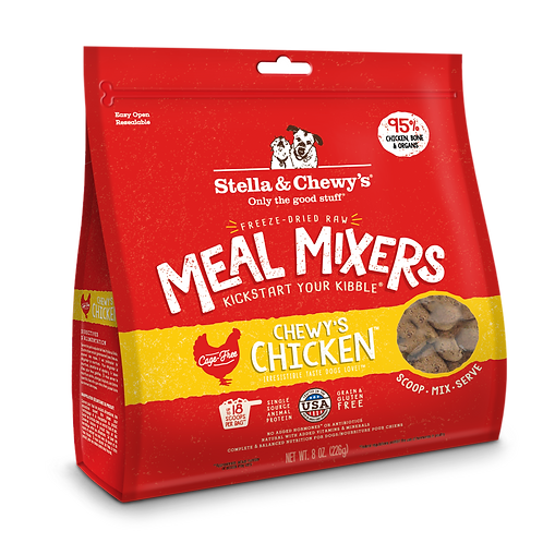 Stella & Chewy's Meal Mixers - Chewy Chicken (8oz & 18oz)