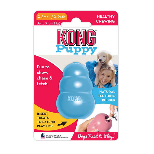 KONG® Puppy (2 colours/4 sizes)