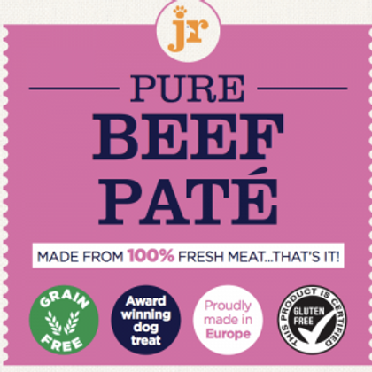 JR-Pure Beef Paté For Dogs (80g)