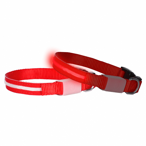 DOGlite LED Collar X-Small (24-36cm) Red Nite