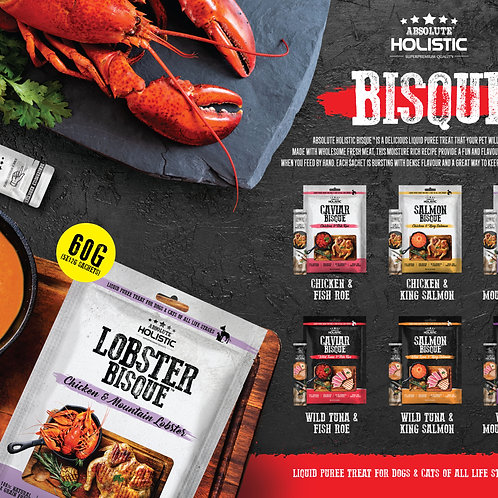 Absolute Holistic - Lobster Bisque 60g