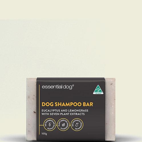 Essential Dog Shampoo Bar: Eucalyptus & Lemongrass