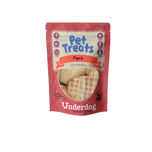 Underdog Pet Treats - Pork