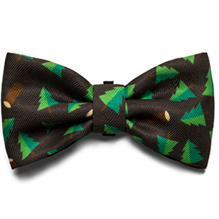 Zee.Dog Bow Tie-Woods