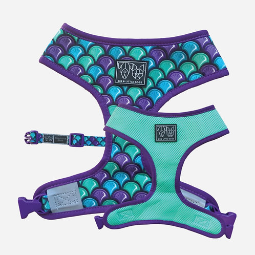 Big & Little Dogs Reversible Harness-Scaled Back