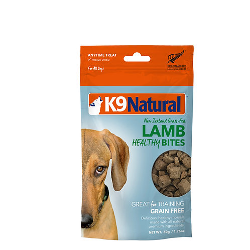 K9 Natural Healthy Bites - Lamb 50g