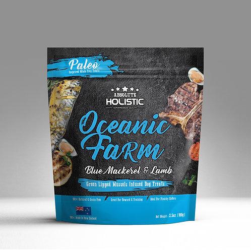 Absolute Holistic - Air Dried Oceanic Farm (Blue Mackerel & Lamb) 100g