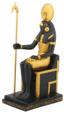 Ancient Egyptian Sitting Egyptian Horus Statue